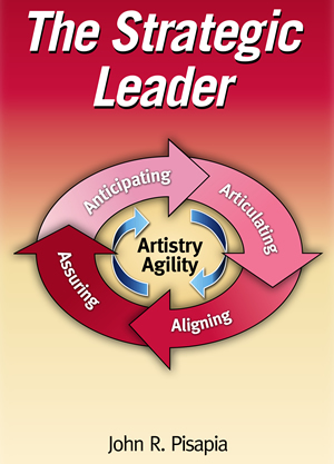 The Stategic Leader Book Cover